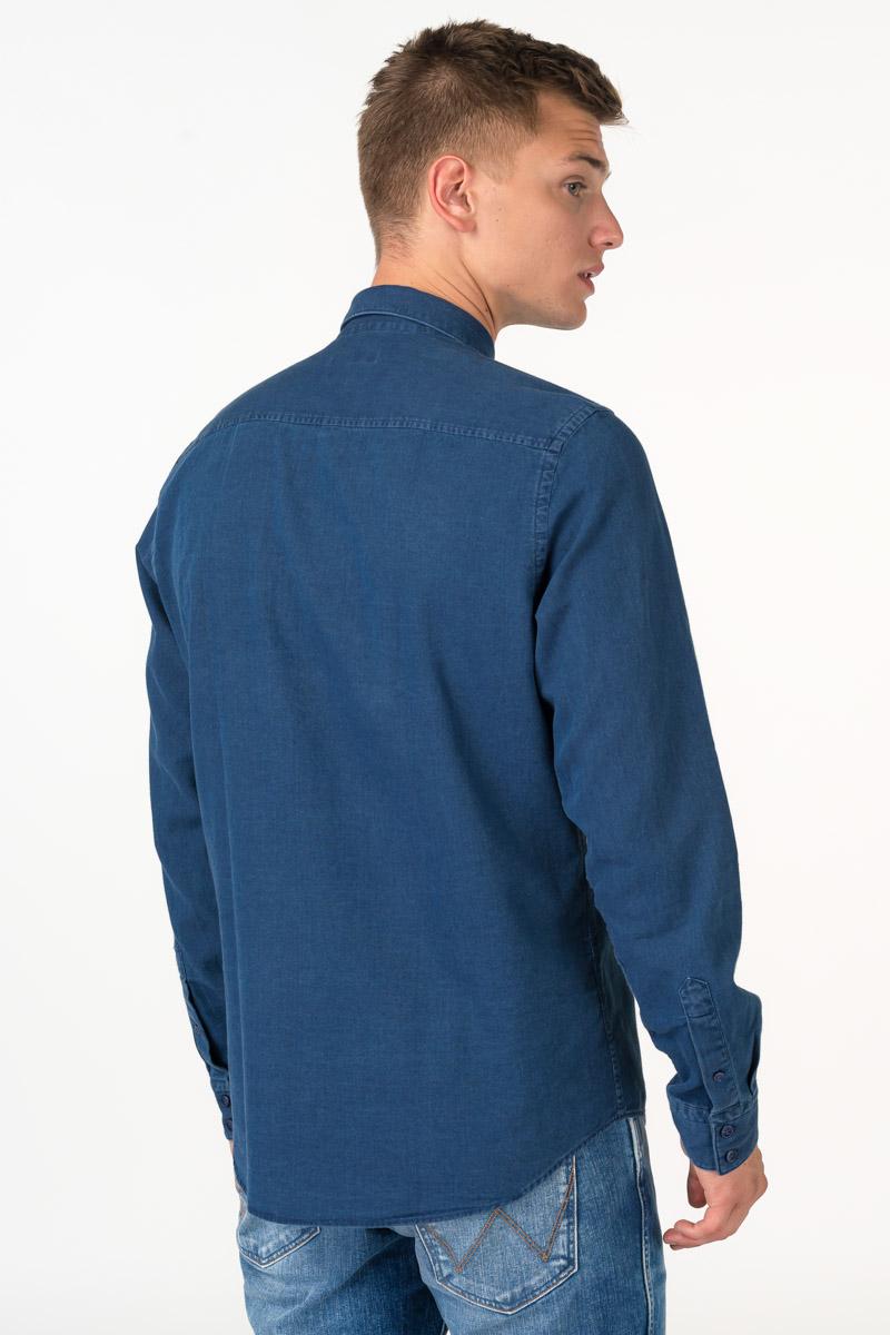 Varteks Ležerna muška tamno plava košulja