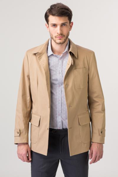 Muška beige jakna od pamuka