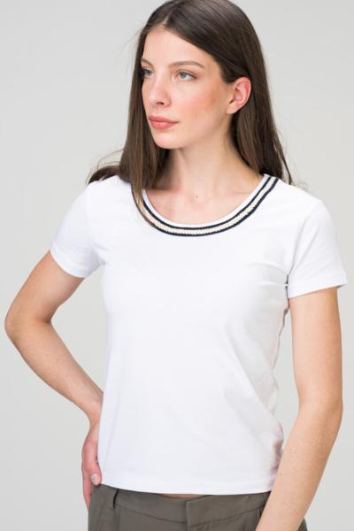 Ženska majica s etno detaljem