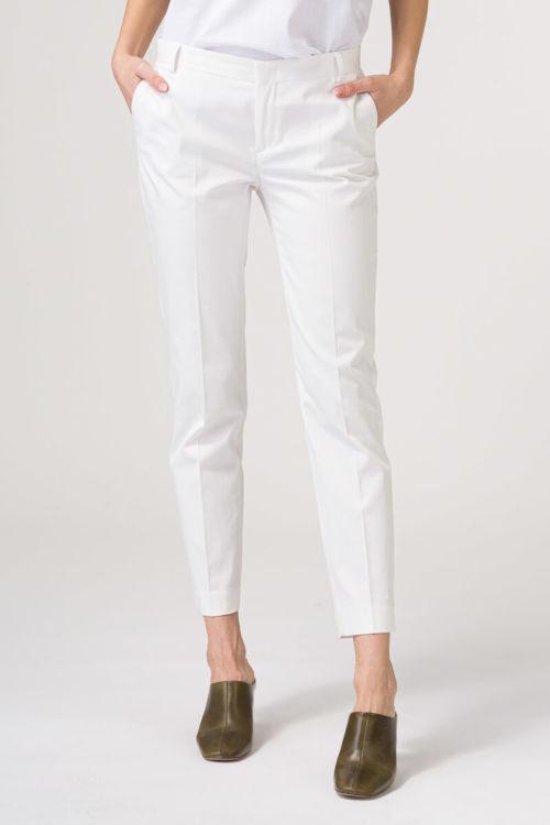 Elegantne hlače na crtu u dvije boje