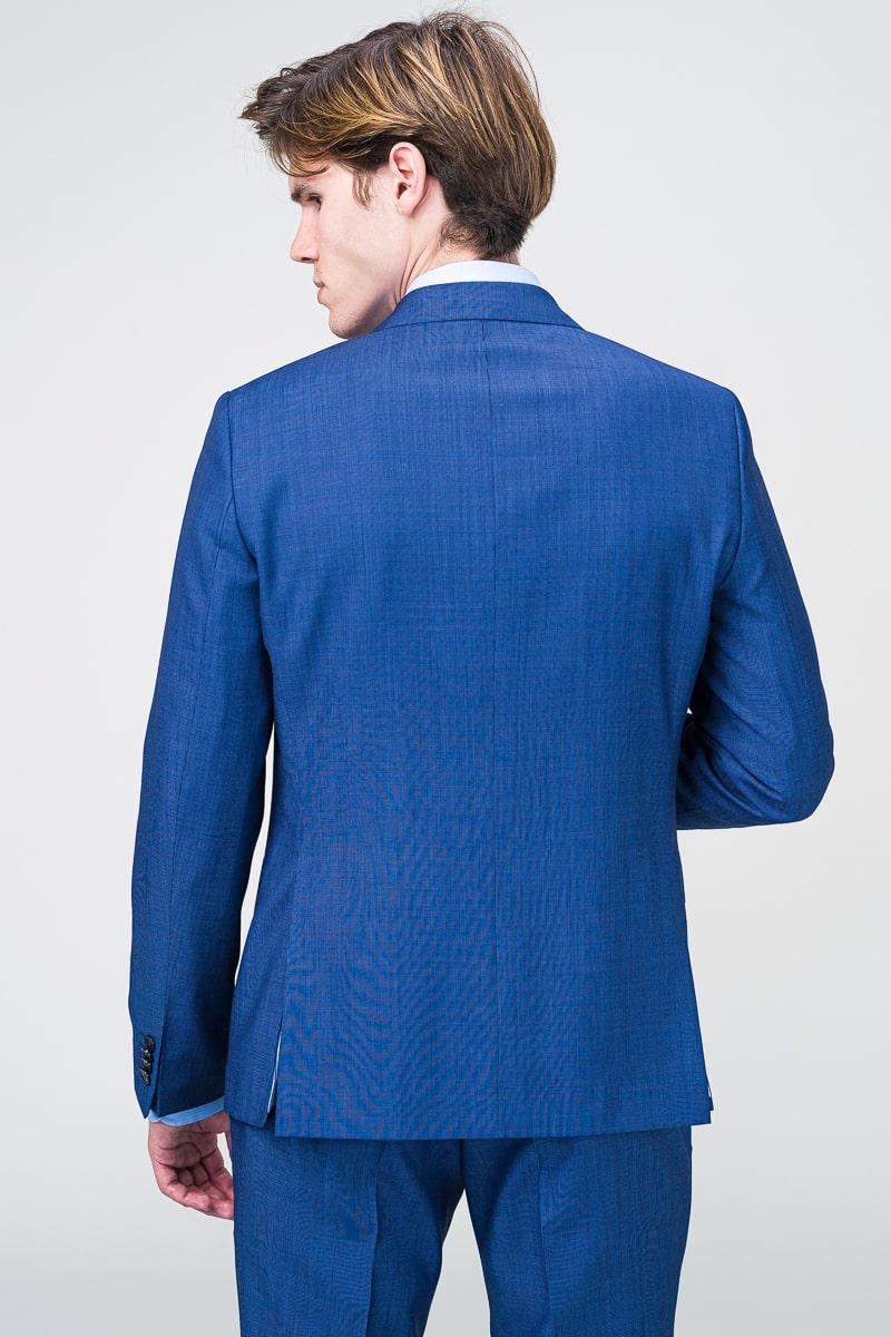 Muško odijelo otvoreno plave boje Super 100's - Regular fit