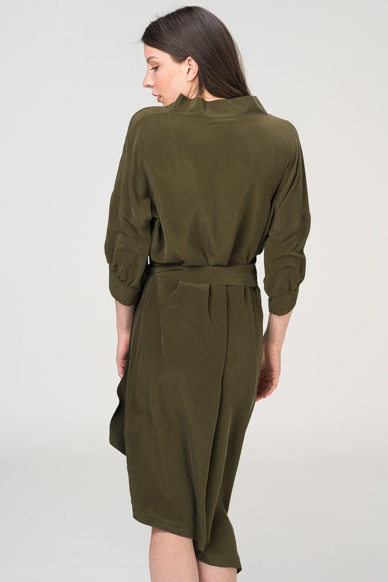 Limited Edition - Elegantna svilena haljina u dvije boje