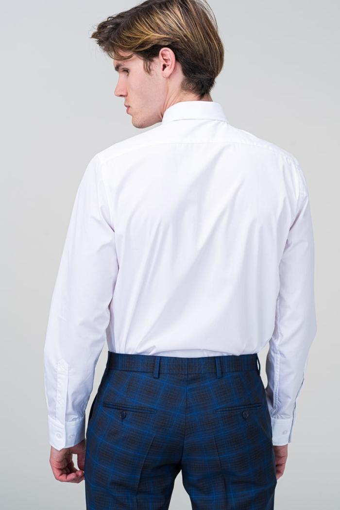 Klasična bijela muška košulja dugih rukava - Regular fit