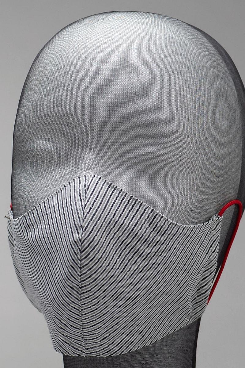 Dezenirana dvoslojna maska za lice