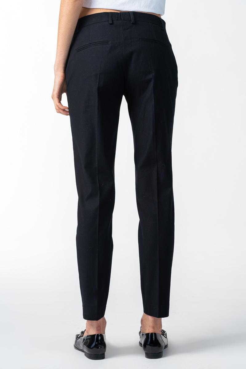 Varteks Crne uske stretch hlače