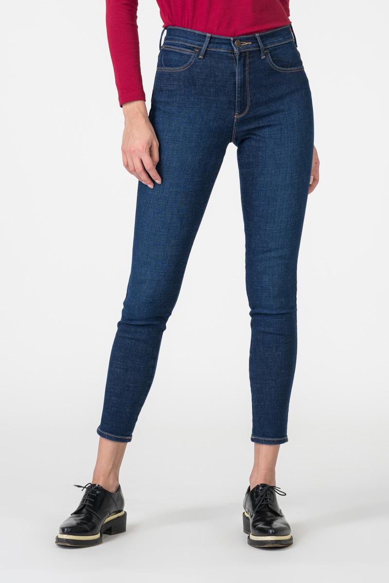 Varteks Ženske high rise skinny traperice - Wrangler