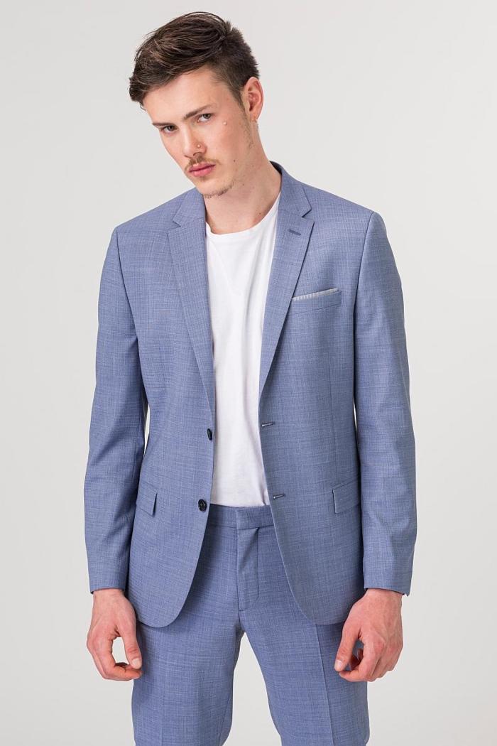 VARTEKS YOUNG - Muško svijetlo plavo odijelo - Slim fit