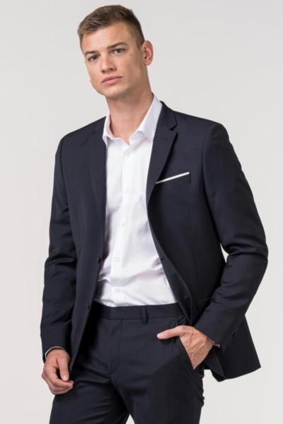 YOUNG - Muški sako od odijela u dvije boje - Slim fit