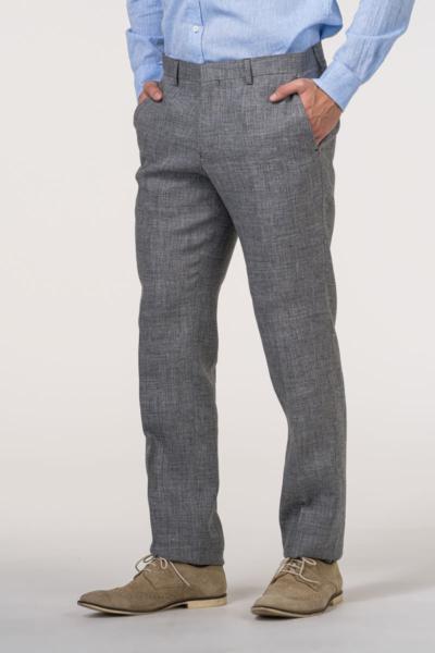 VARTEKS - Muške lanene hlače u tri boje natural stretch – Regular fit