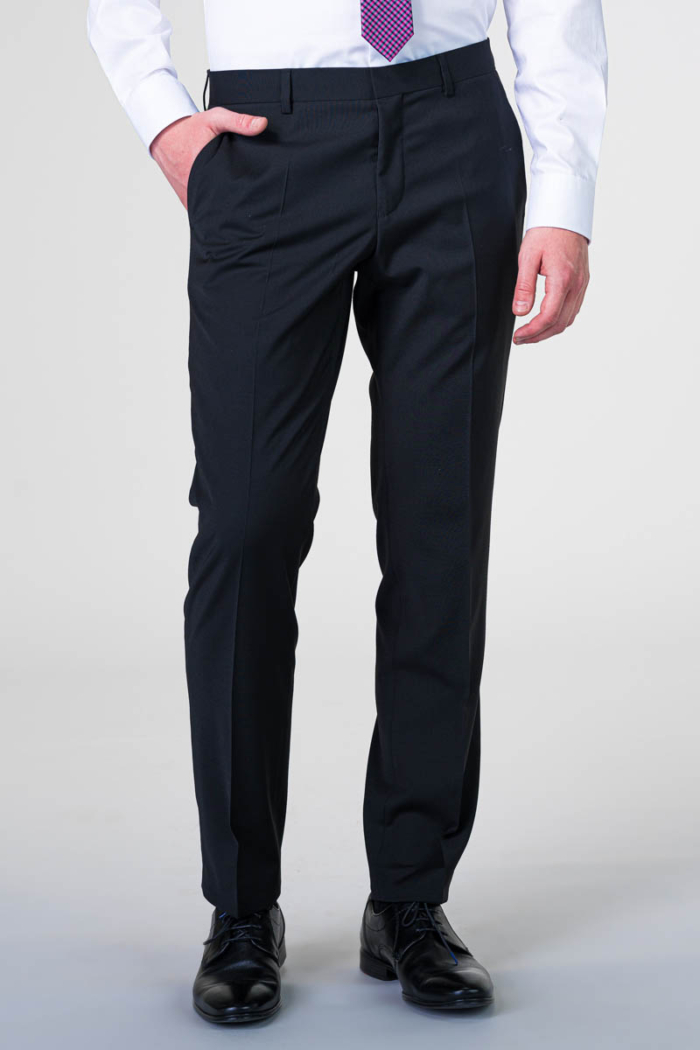 Varteks Young - Hlače od odijela u crnoj i tamno plavoj boji - Regular fit