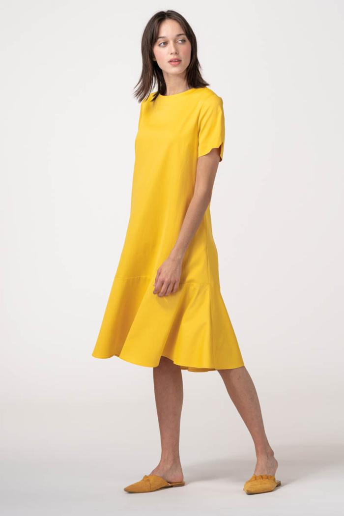 VARTEKS Ženska haljina A kroja u dvije boje