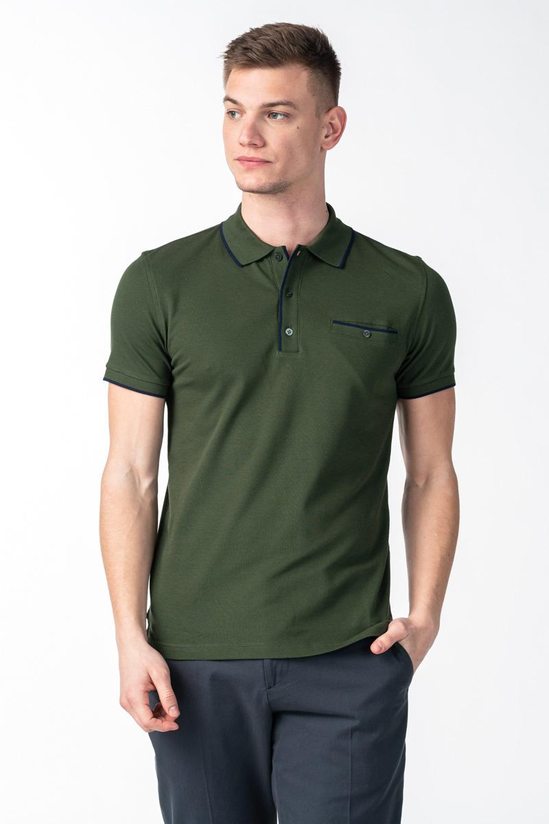 Varteks Muška polo majica kratkih rukava s džepićem - Slim fit