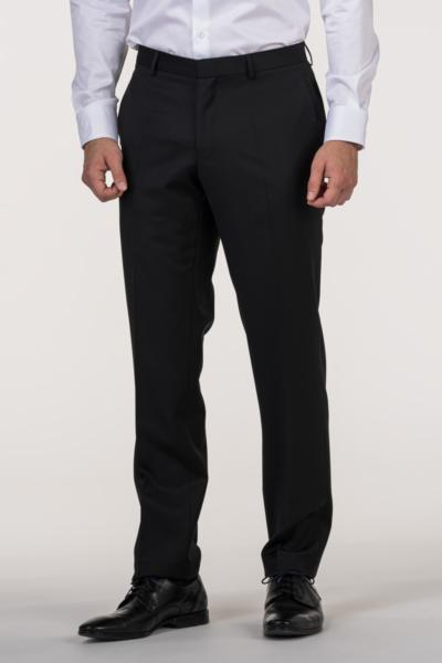 VARTEKS - Muške smoking hlače od vune Super 100's – Regular fit