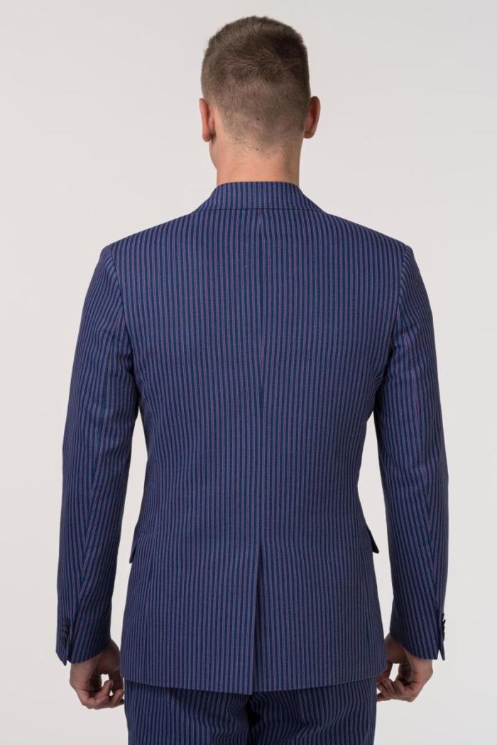 VARTEKS YOUNG - Sako od odijela na sitne pruge - Slim fit
