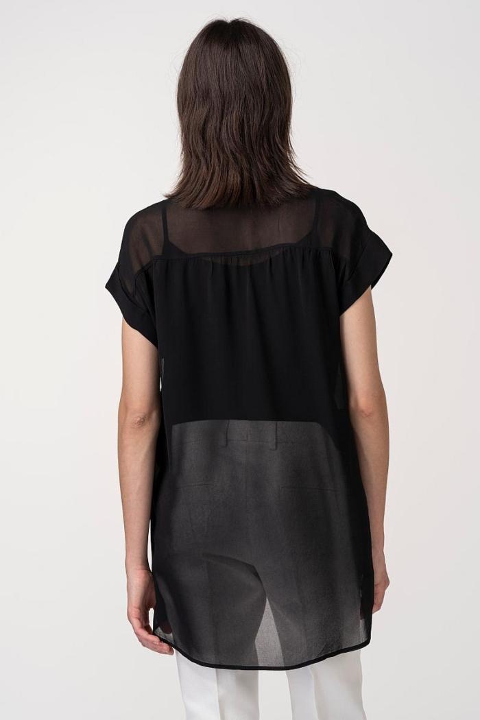 VARTEKS Prozračna bluza s topom u dvije boje