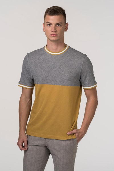 VARTEKS Muška dvobojna T-shirt majica - Regular fit