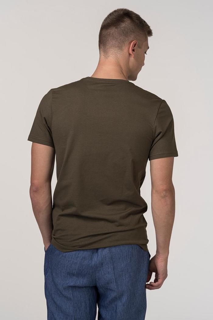 VARTEKS Muška T- shirt majica s retro printom