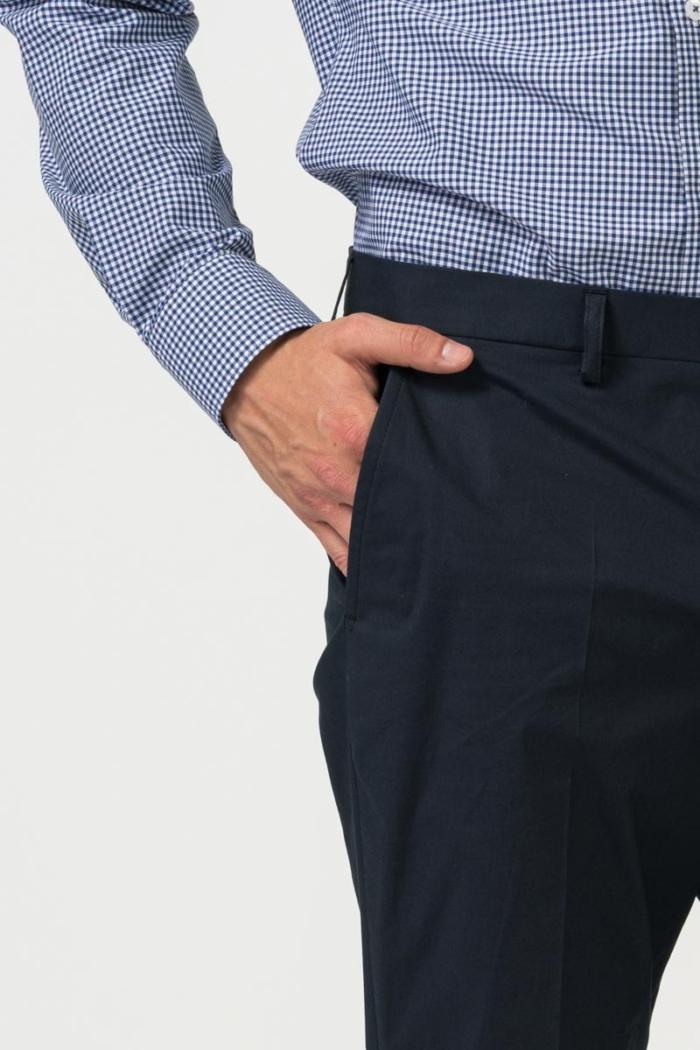 Varteks Tamno plave muške hlače - Comfort fit