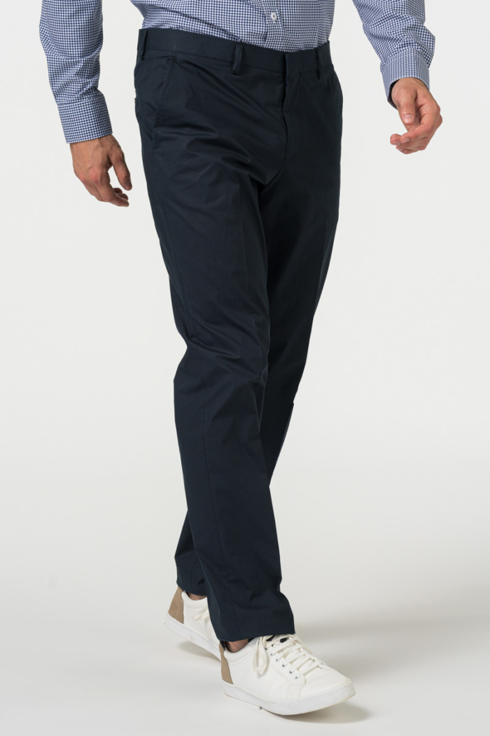 Dark blue men's pants - Regular fit