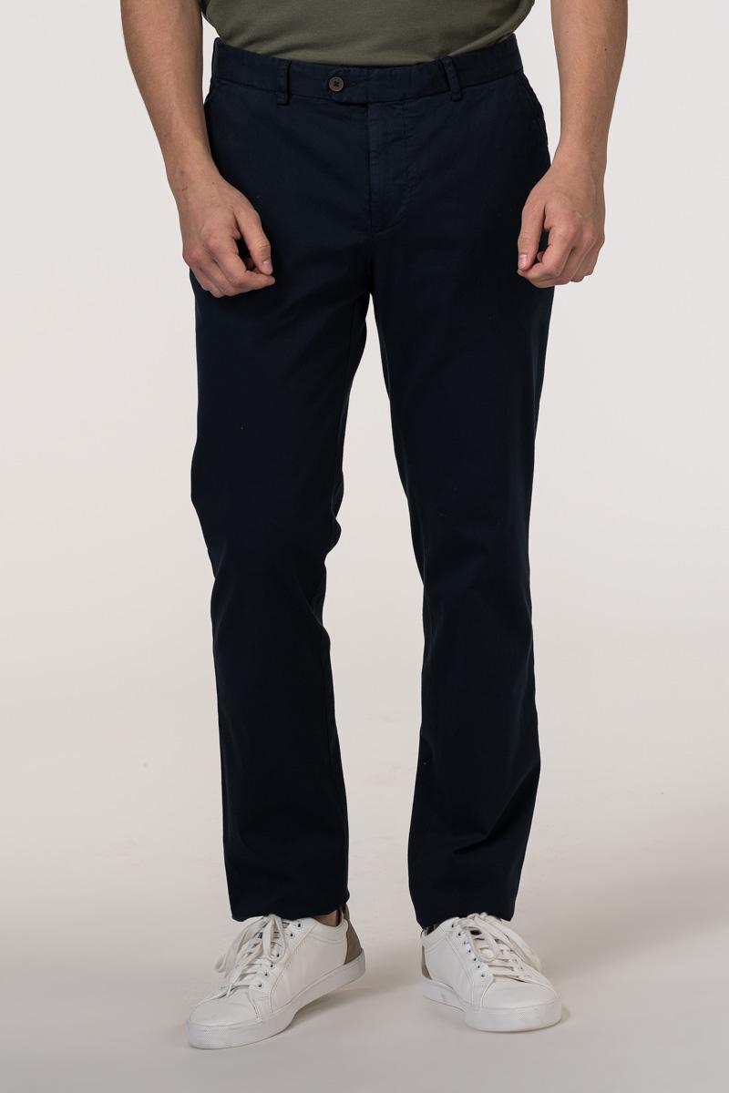 VARTEKS Muške pamučne ljetne hlače s elastanom - Regular fit