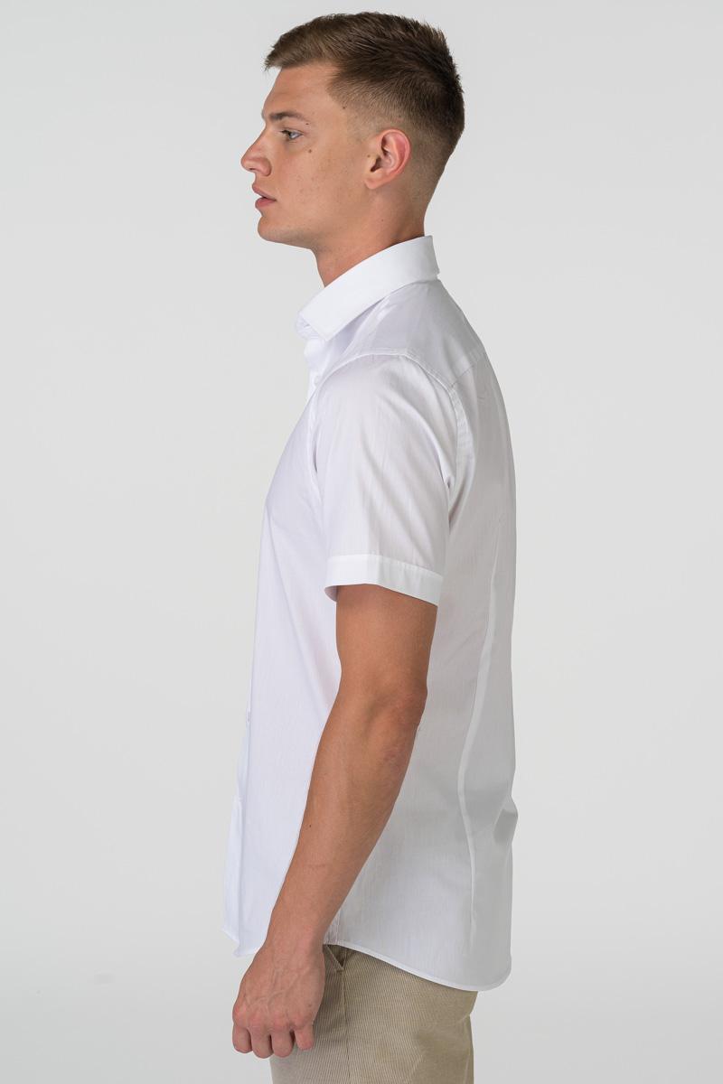 Varteks Muška bijela košulja kratkih rukava - Slim fit