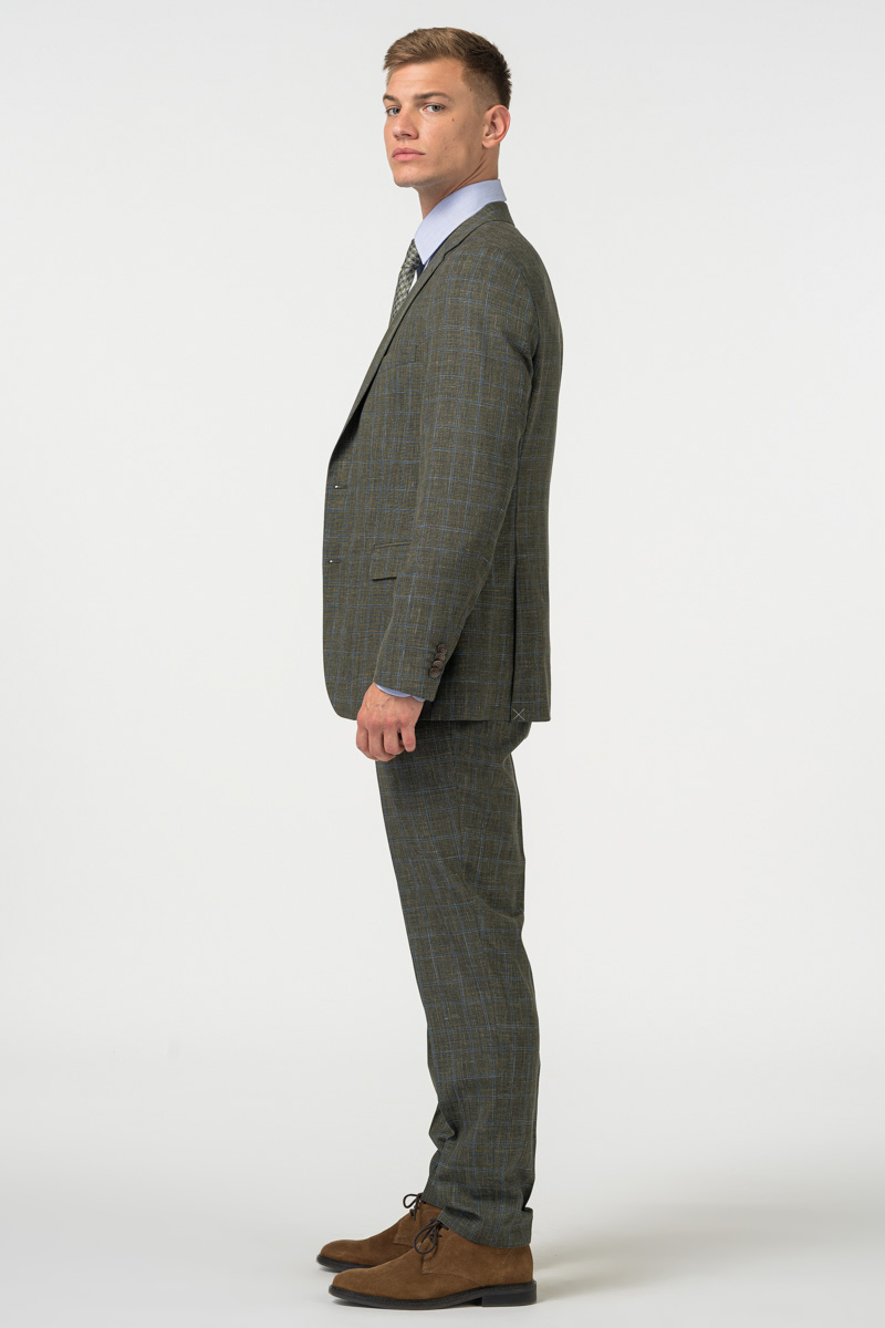 Limited Edition - Men's suit Loro Piana Summertime - Regular fit