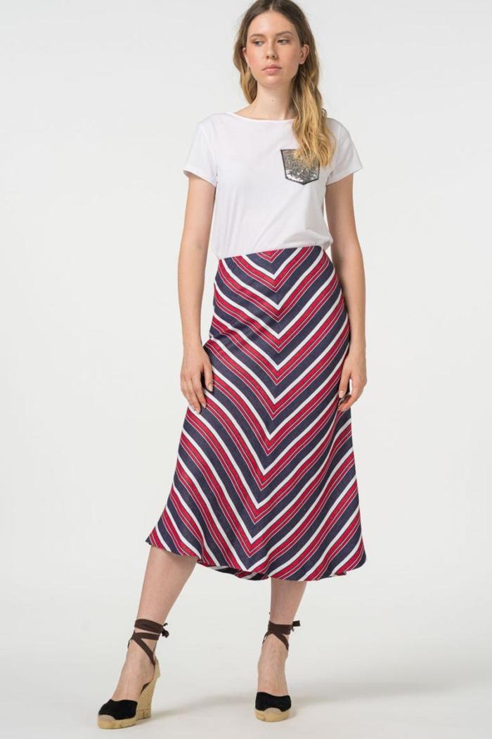Varteks Midi suknja A kroja