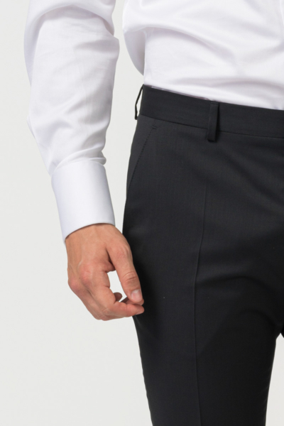 Elegant men's tuxedo suit trousers - Slim fit