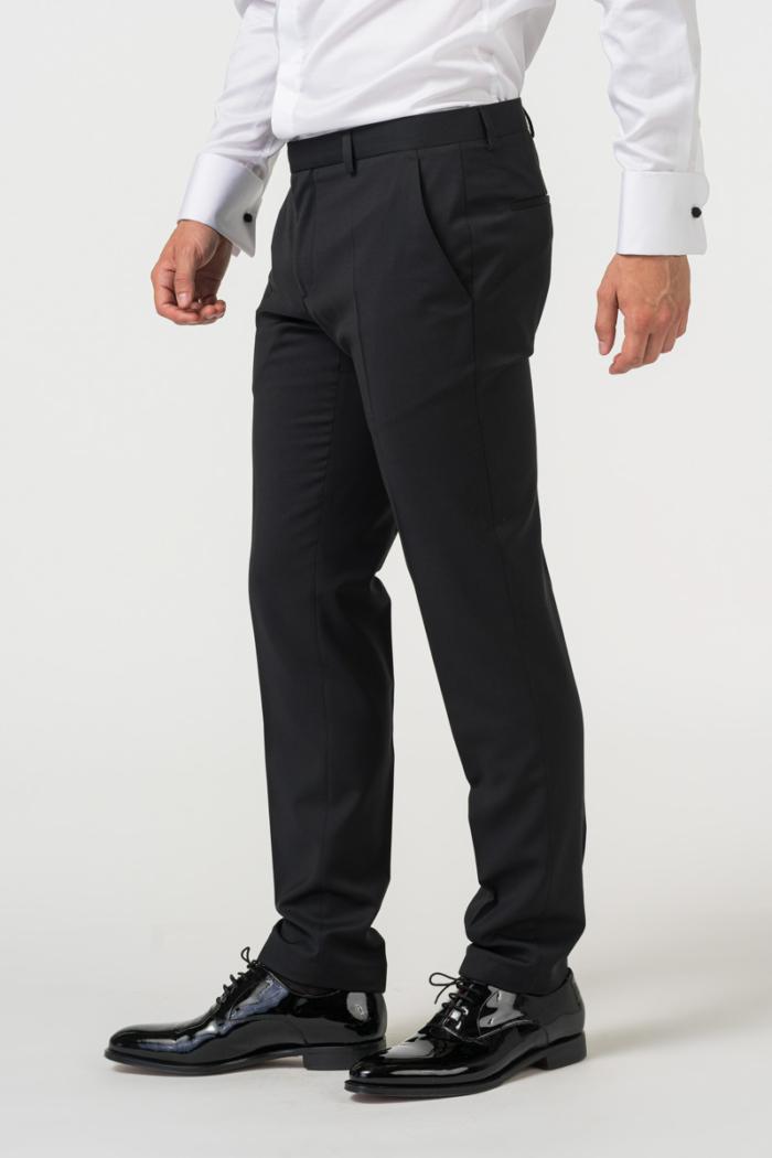 Elegant men's tuxedo suit trousers - Slim fit