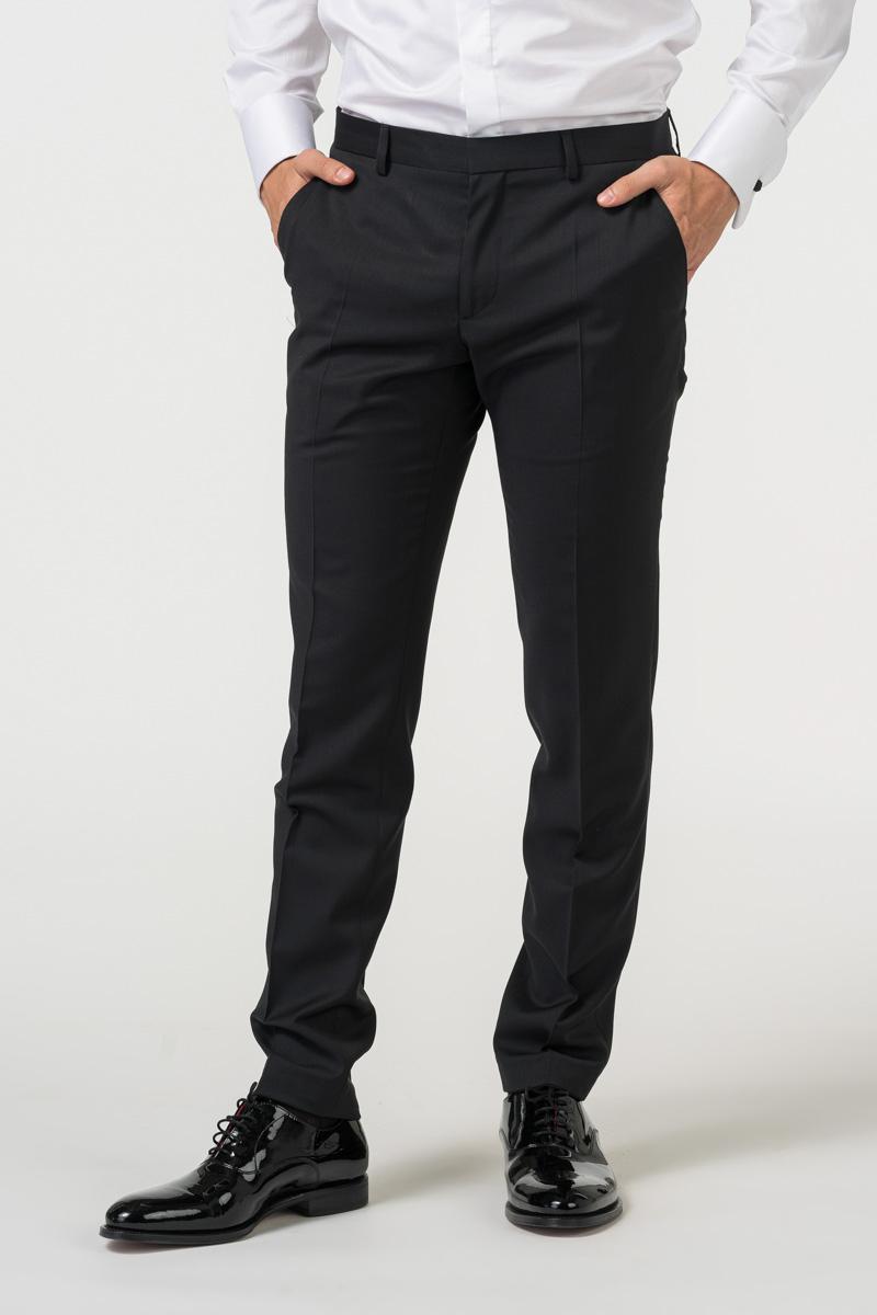 Varteks Elegantne muške hlače od smoking odijela - Slim fit