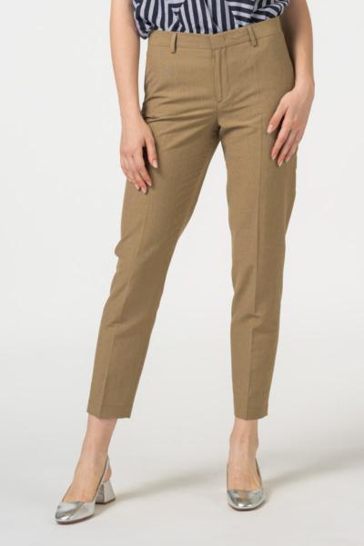 Women's pants 7/8 in earth tone