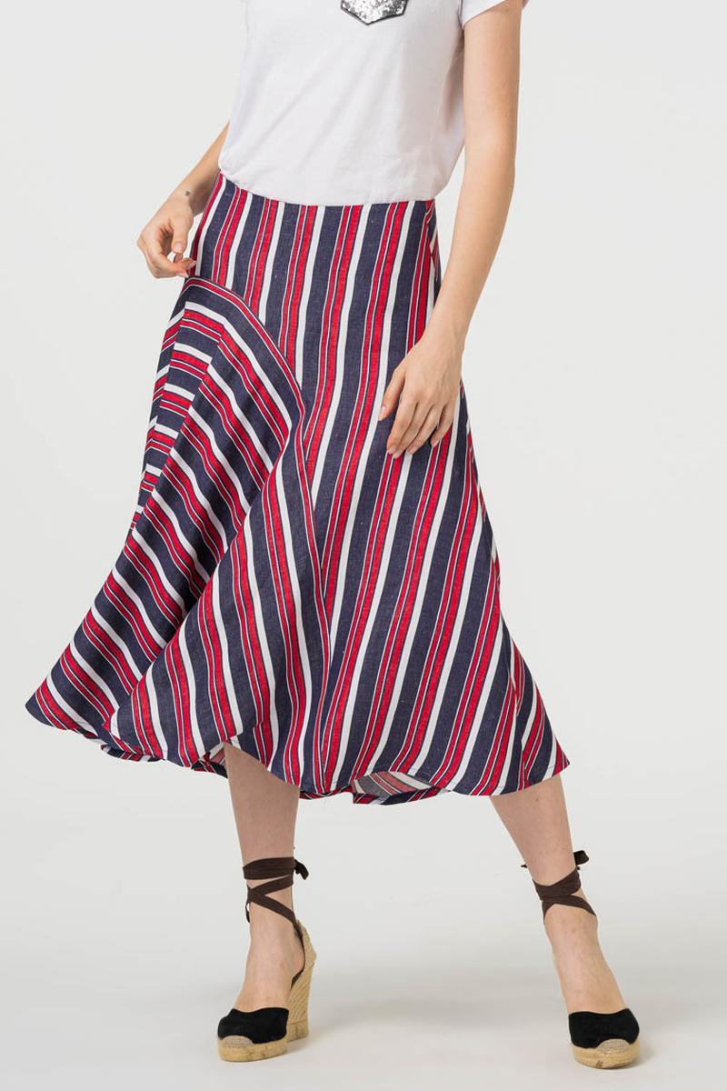 Varteks Asimetrična suknja na prugice