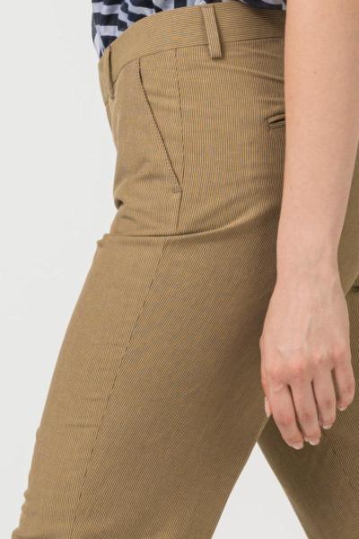 Varteks Ženske hlače 7/8 zemljanog tona