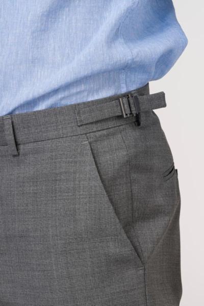 VARTEKS Muške ljetne vunene hlače - Regular fit