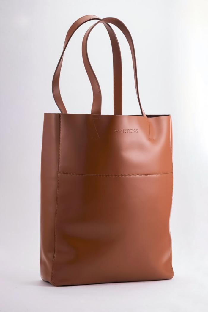 VARTEKS Ženska velika vrećasta torba u tri boje
