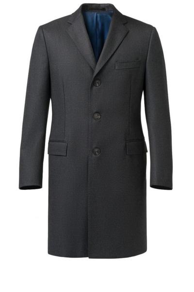 Varteks Classic men's coat with a straight cut