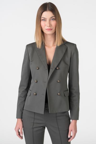 Varteks Women's olive green blazer