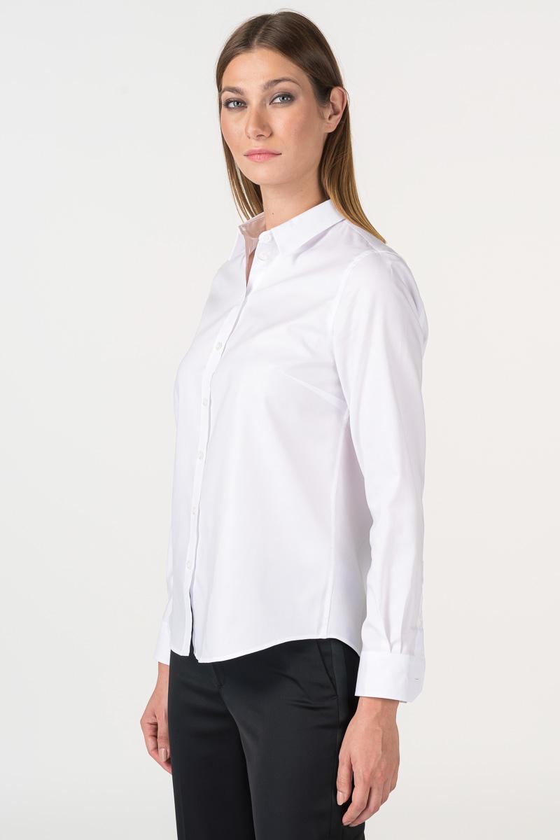Varteks Bijela ženska košulja s detaljem na leđima