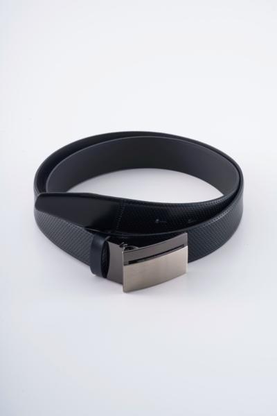 Varteks Leather belt with dots pattern