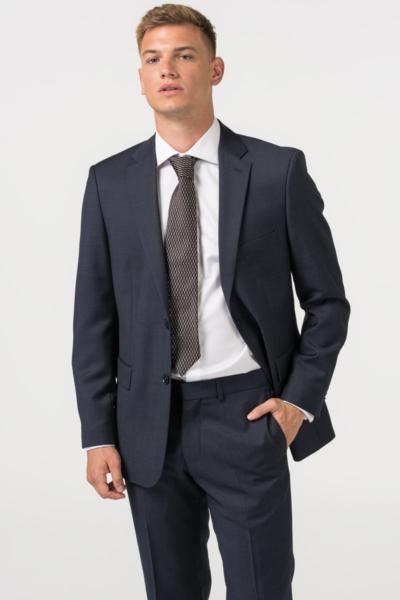 Varteks - Plavi muški sako od odijela - Comfort fit puni stas