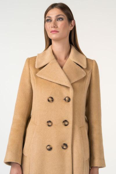 Varteks Long women's coat in two colors