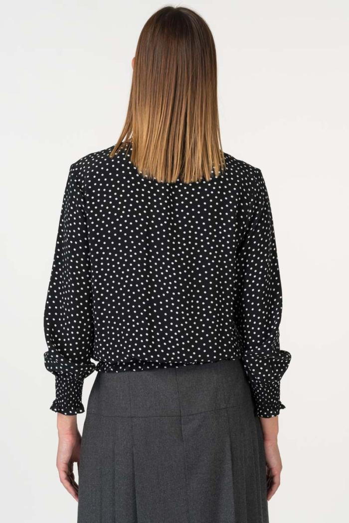 Varteks Women's polka dot blouse