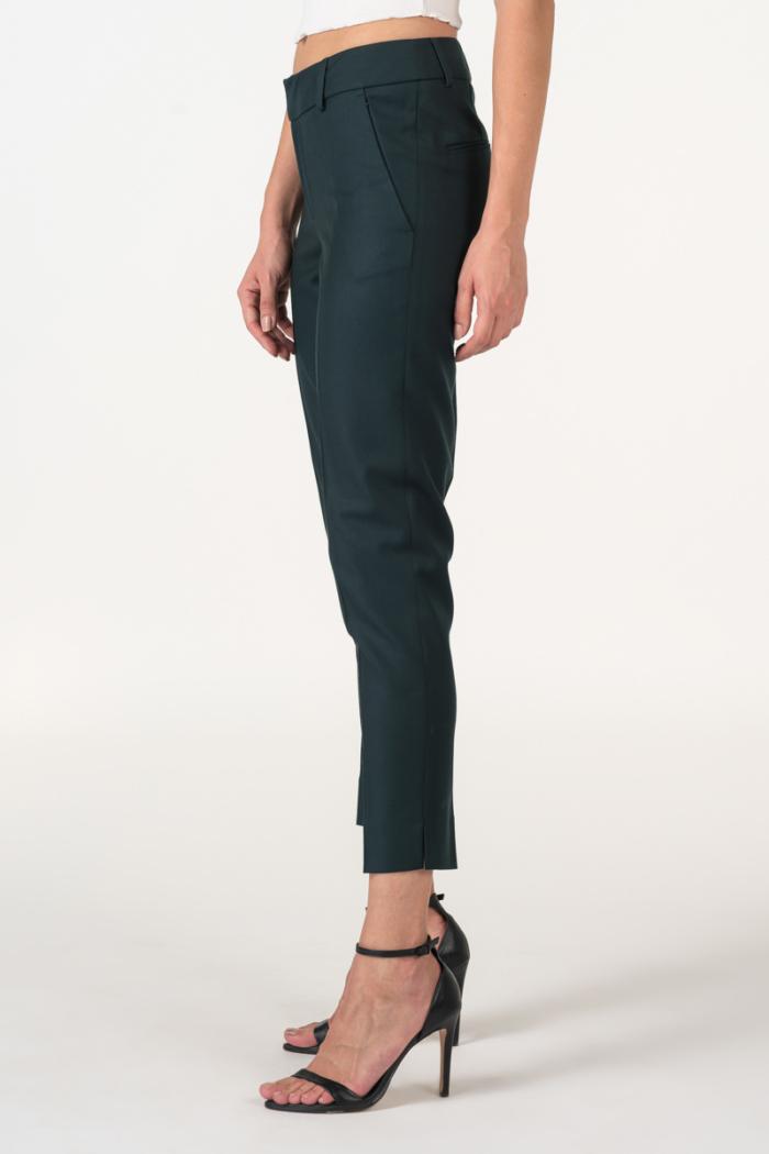 Varteks Dark green women's 7/8 pants