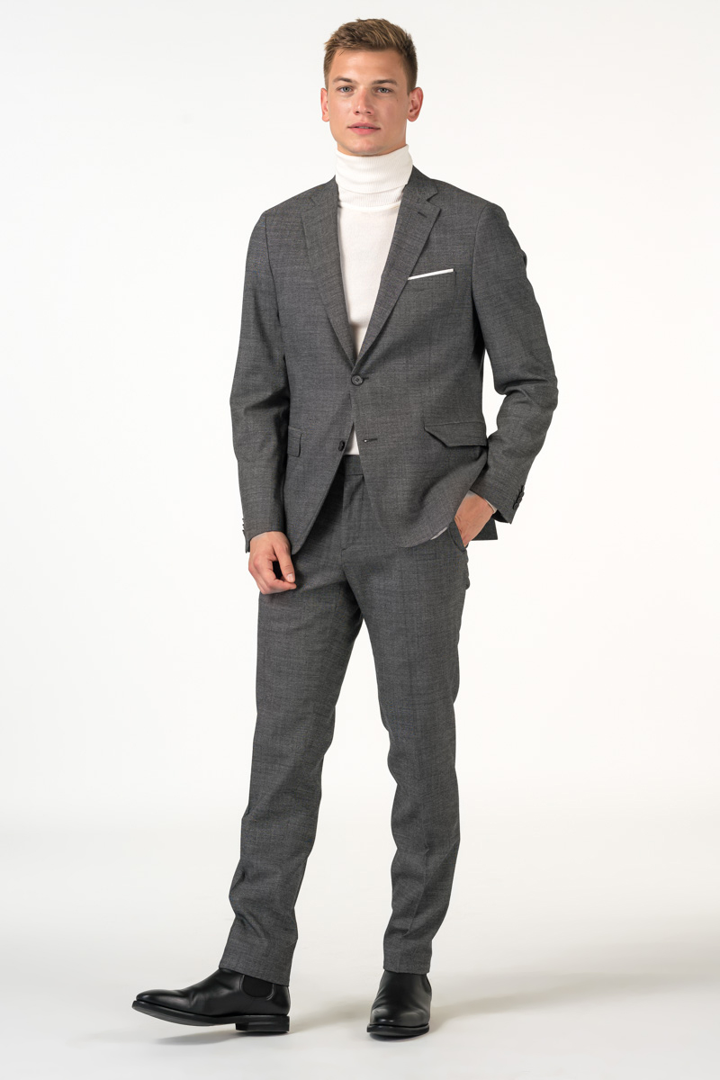 Suit trousers in two colors - Slim fit