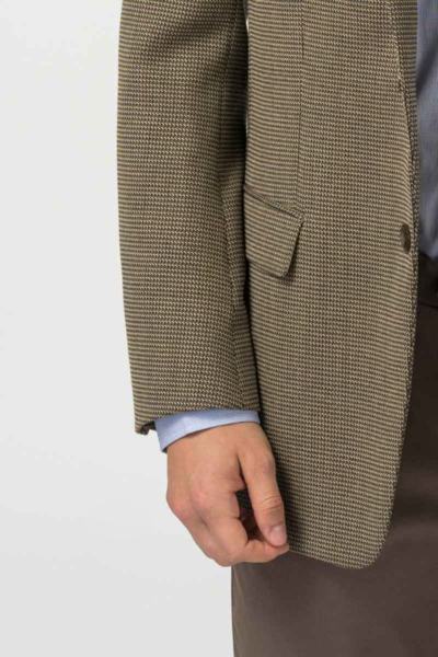 Varteks Men's blazer salt-pepper pattern - Slim fit