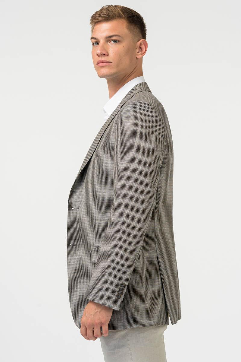 Varteks Men's pepita blazer - Slim fit