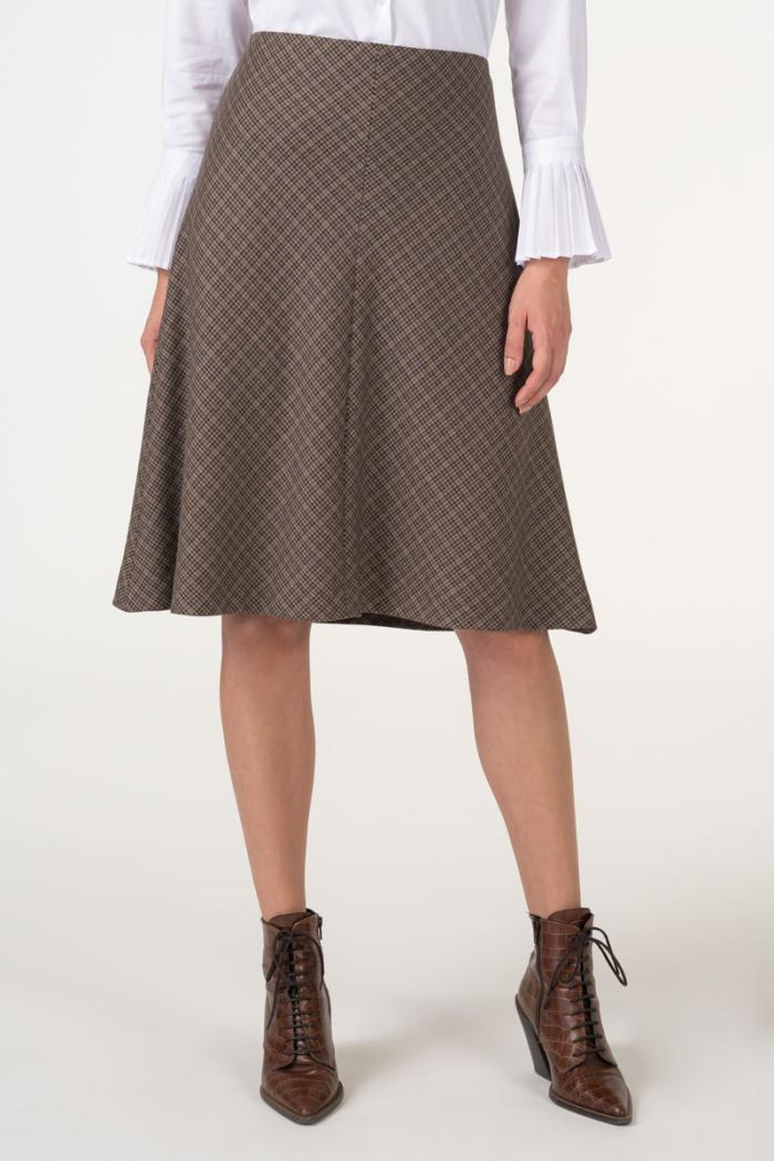 Varteks Ženska suknja pepita uzorka
