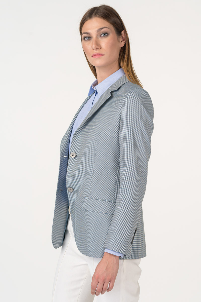 Varteks Klasični ženski sako svijetlo plave boje