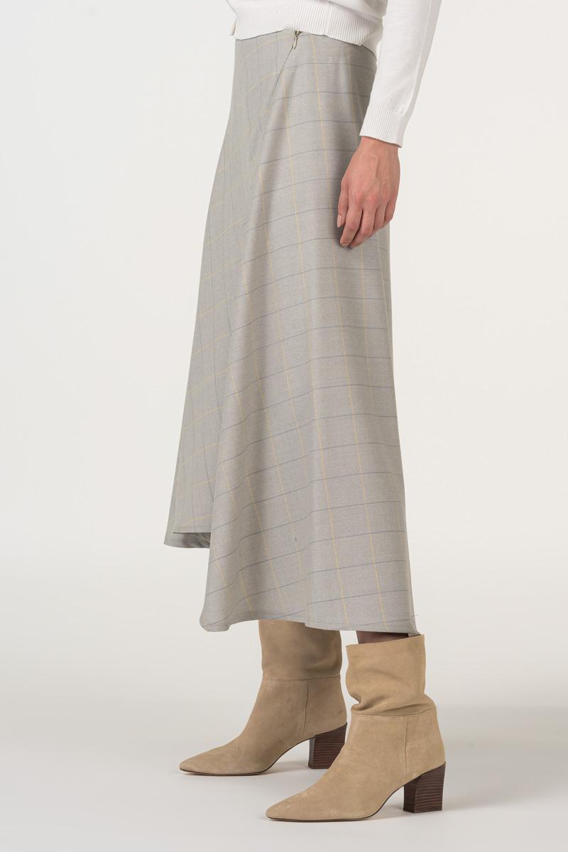Varteks Suknja nježnog kariranog uzorka