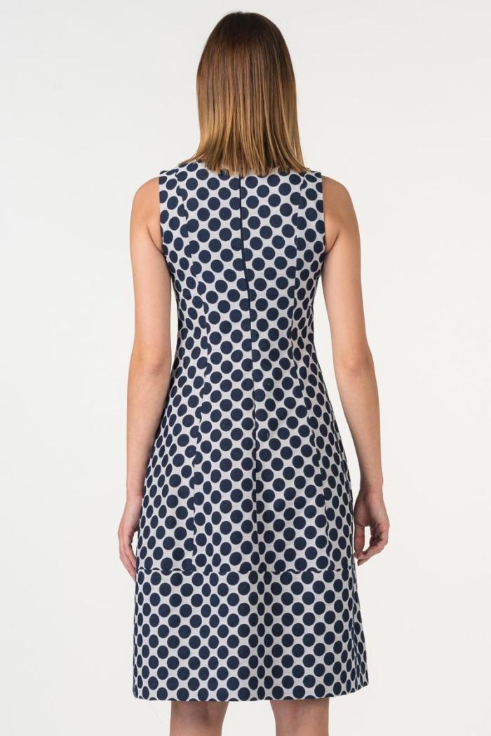 Varteks Elegantna haljina točkastog uzorka
